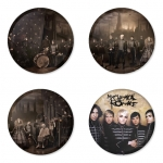 My Chemical Romance button badge 1.75 inch custom backside 4 type Pinback, Magnet, Mirror or Keychain. Get 4 in package [6]