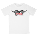Aerosmith rock band t shirts white tees cotton 100 S M L XL XXL [1]