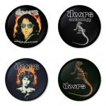 The Doors button badge 1.75 inch custom backside 4 type Pinback, Magnet, Mirror or Keychain. Get 4 in package [7]