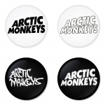 Arctic Monkeys button badge 1.75 inch custom backside 4 type Pinback, Magnet, Mirror or Keychain. Get 4 in package [6]
