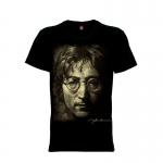 เสื้อยืด วง John Lennon แขนสั้น แขนยาว S M L XL XXL [2]