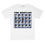 The Beatles rock band t shirts white tees cotton 100 S M L XL XXL [5]