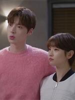 เสื้อแขนยาวสีชมพู คังฮยอนมิน Cinderella and Four Knights