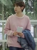 เสื้อแขนยาวสีชมพู อึนฮาวอน Cinderella and Four Knights