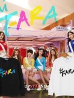 เสื้อแจ็คเก็ตแขนยาวเกาหลี T-ara พิมพ์ลายด้านหน้า เปิดตัวอัลบั้ม มี4สี