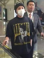เสื้อแฟชั่นเกาหลี BIGBANG สีดำ แต่งรูปด้านหน้า แนววินเทจ