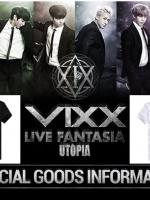 เสื้อยืดแขนสั้นเกาหลี VIXX พิมพ์ลายด้านหน้า มี6สี