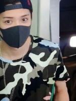 เสื้อยืดแขนสั้นลายพราง EXO ดีไซน์เท่