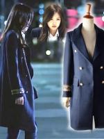 เสื้อโค้ทสีน้ำเงิน พัคฮเยจี Cinderella and Four Knights สวยหรู