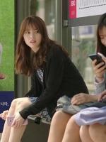 เสื้อคลุมเกาหลีสีดำ โอยอนจู W Two Worlds ดีไซน์เก๋
