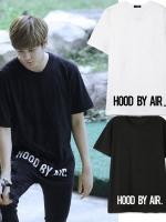 เสื้อยืดแขนสั้นเกาหลี IKON HOOD BY AIR ทรงหลวม มี7สี