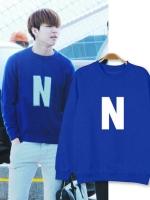 เสื้อแจ็คเก็ตแขนยาวเกาหลี INFINITE แต่งพิมพ์ลาย N มี5สี