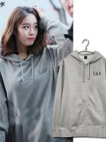 เสื้อแจ็คเก็ตแขนยาวเกาหลี T-ara มีฮู้ด พิมพ์ GAP ด้านหน้า มี4สี