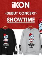 เสื้อแจ็คเก็ตแขนยาวเกาหลี IKON Debut Concert Showtime พิมพ์ลายหมี มี3สี