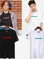 เสื้อยืดแขนสั้นเกาหลี SHINEE พิมพ์ลายด้านหน้า มี2สี