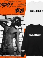 เสื้อแฟชั่นแขนยาวเกาหลี IKON BOBBY HOLUP มี4สี