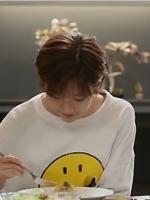 เสื้อแฟชั่นแขนยาวสีขาว อึนฮาวอน Cinderella แต่งรูปไอคอน