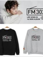 เสื้อแจ็คเก็ตแขนยาวเกาหลี FTISLAND พิมพ์ลายด้านหน้า มี4สี