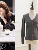 เสื้อแจ็คเก็ตคลุม โอยอนจู W Two Worlds แต่งแถบ มี3สี