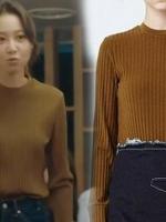 เสื้อกันหนาวถักไหมพรมกงฮโยจิน พโยนาริ จากซีรีย์ Jealousy Incarnate