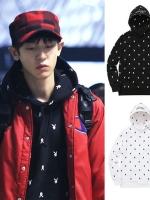 เสื้อฮู้ดแจ็คเก็ตเกาหลี EXO พิมพ์ลายกระต่ายทั้งตัว มี2สี