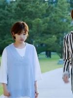 เสื้อกั๊กไหมพรมคอV สีฟ้า อึนฮาวอน Cinderella and Four Knights