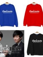 เสื้อแจ็คเก็ตแขนยาวเกาหลี CNBLUE พิมพ์ลายด้านหน้า CHECK MADE มี5สี