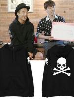 เสื้อฮู้ดแจ็คเก็ตเกาหลี Bigbang แต่งหัวกะโหลก มี4สี