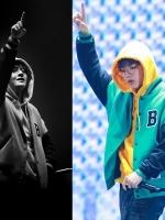 เสื้อแจ็คเก็ตเบสบอลสีเขียว BTS แต่งพิมพ์ลายหน้าหลัง