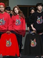 เสื้อแจ็คเก็ตแขนยาวเกาหลี WINNER สกรีนลายน้องหมา ดีไซน์เท่ มี4สี