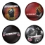 Greenday button badge 1.75 inch custom backside 4 type Pinback, Magnet, Mirror or Keychain. Get 4 in package [4] thumbnail 1