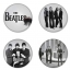 The Beatles button badge 1.75 inch custom backside 4 type Pinback, Magnet, Mirror or Keychain. Get 4 in package [6] thumbnail 1