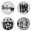 ของที่ระลึกวง The Beatles เลือกด้านหลังได้ 4 แบบ เข็มกลัด, แม่เหล็ก, กระจกพกพา หรือ พวงกุญแจที่เปิดขวด 1 แพ็ค 4 ชิ้น [6] thumbnail 1