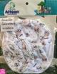 ชุด 4 ชิ้น หมวก ผ้ากันเปือน ถุงมือ ถุงเท้า Hamtaro Interlock Cotton 100% Attoon