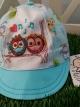 หมวกแก๊ปเด็กปักลาย ยี่ห้อ PAPA size S