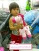 ยีราฟตุ๊กตากล่อมน้องนอน สีชมพู