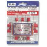 สปริตเตอร์แยกสัญญาณ RF 8 ทาง รุ่น TAFN 8SPF