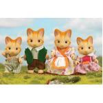 ซิลวาเนียน ครอบครัวแมวจิงเจอร์ 4 ตัว (UK) Sylvanian Families Ginger Cat Family