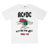 เสื้อยืด วง AC/DC สีขาว แขนสั้น S M L XL XXL [4]