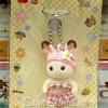 พวงกุญแจซิลวาเนียน-เบบี้กระต่ายช็อคโกแลตชุดว่ายน้ำ (JP) Sylvanian Family Chocolate Rabbit Baby