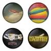 ของที่ระลึกวง Led Zeppelin เลือกด้านหลังได้ 4 แบบ เข็มกลัด, แม่เหล็ก, กระจกพกพา หรือ พวงกุญแจที่เปิดขวด 1 แพ็ค 4 ชิ้น [2]