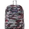 JanSport รุ่น Superbreak - High Risk Red Aztec Camo