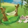 ซิลวาเนียน เปลญวน (UK) Sylvanian Families Garden Hammock