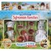 ซิลวาเนียน ชุดพ่อครัวตัวตุ่นและแม่ครัวแมวสีเทา (UK) Family Life in Sylvania Basil & Suzette