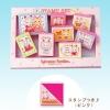 [SOLD OUT] ชุดตัวปั๊มซิลวาเนียน-กล่องชมพู (JP) Sylvanian Families Stamp Set