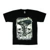 เสื้อยืด วง Metallica แขนสั้น สกรีนเฉพาะด้านหน้า สั่งได้ทุกขนาด S-XXL [NTS]