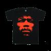 เสื้อยืด วง Jimi Hendrix แขนสั้น งาน Vintage ลายไม่ชัด ทุกขนาด S-XXL [Easyriders]