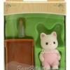 ซิลวาเนียน เบบี้แมวซิลค์+เปล (EU) Sylvanian Families Silk Cat Baby Girl