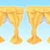[หมดแล้ว] ชุดผ้าม่านบ้านซิลวาเนียนลายจุด (JP) Sylvanian Family Curtain V3%
