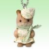 พวงกุญแจซิลวาเนียน เบบี้กระรอกวอลนัท (JP) Sylvanian Families Walnut Squirrel Baby